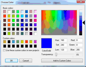 GraphPad Prism 8 User Guide - Selecting colors (Windows)
