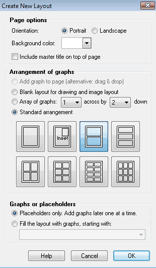 GraphPad Prism 8 User Guide - Creating a layout